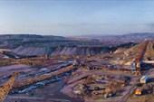Бачатский Угольный разрез. Вид на ЦПТ
